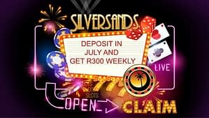 Silversands Casino July Promotions