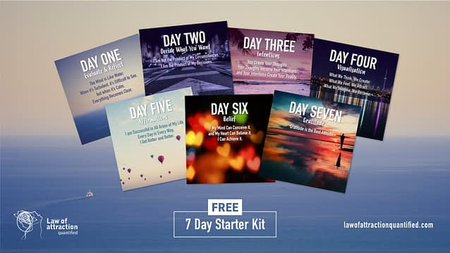 Free 7 Day Law of Attraction Starter Kit