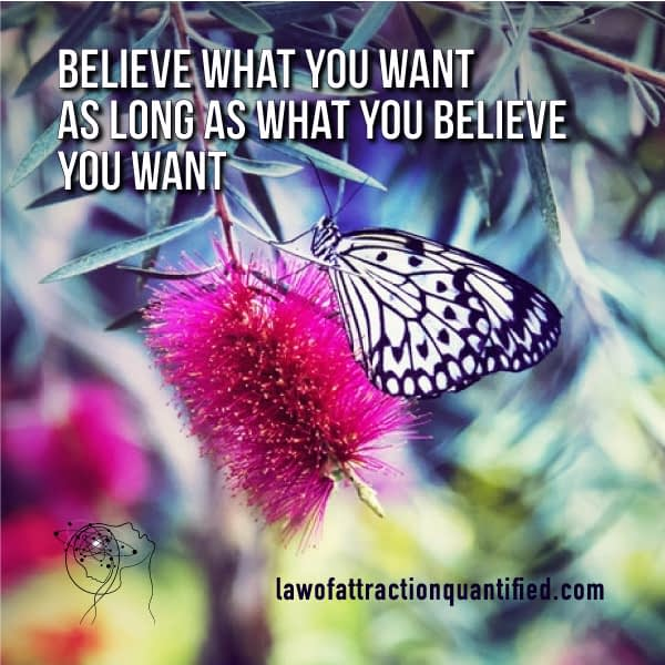Believe What You Want