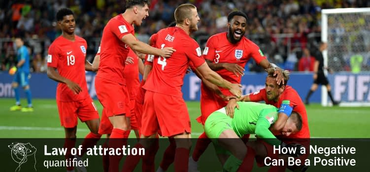 England vs Colombia - How a negative can be a positive