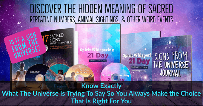 Always Know What a Sign from the Universe Means - Sleep Whisperer